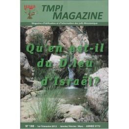 TMPI Magazine 188 - Qu'en est-il du D.ieu d'israel ?