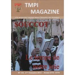 TMPI Magazine 194 - Souccot, le temps de notre joie
